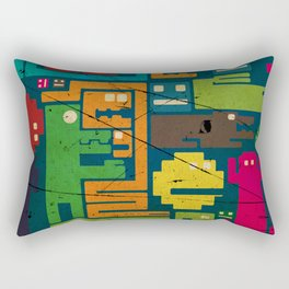 Moster  Rectangular Pillow