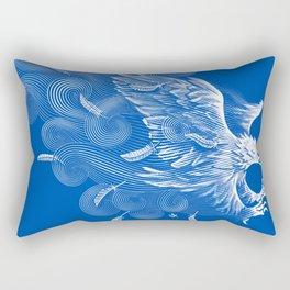 Windy Wings Rectangular Pillow