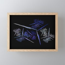 lines Framed Mini Art Print