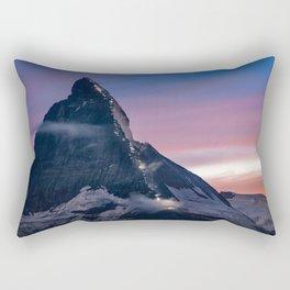 Matterhorn, Switzerland #society6 #decor #buyart Rectangular Pillow