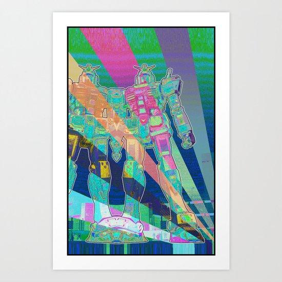 Brobot Art Print