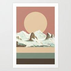 MTN II Art Print