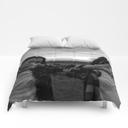 Native Girl Magic Comforters
