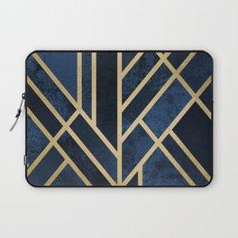 Art Deco Midnight Laptop Sleeve