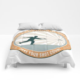 Make Your Shot Count Comforters