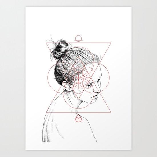 Face Facts II Art Print