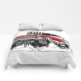 57 Gasser REV-3 RED Comforters