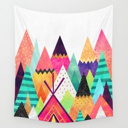 Land of Color Wall Tapestry