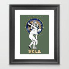 UCLA ...let there be light Framed Art Print