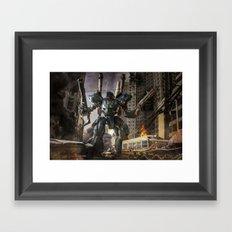 KAMPFER Framed Art Print