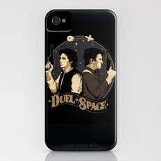 Duel in Space iPhone (4, 4s) Slim Case