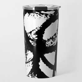 Dance Black and White Travel Mug