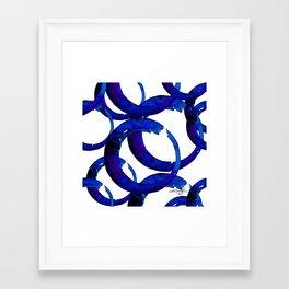 Enso Of Zen No. 21 by Kathy Morton Stanion Framed Art Print