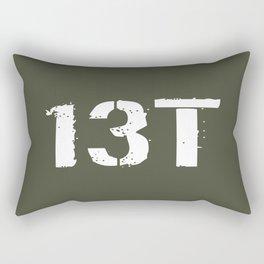 13T Field Artillery Surveyor/Meteorological Crewme Rectangular Pillow
