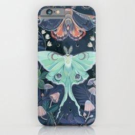 Luna Moth iPhone Case