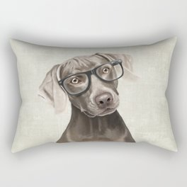 Mr Weimaraner Rectangular Pillow