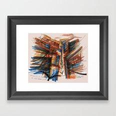 The City pt. 3 Framed Art Print