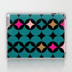 Geometric Blue Laptop & iPad Skin