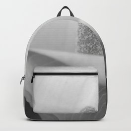 Calla Lily in Black and White Backpack