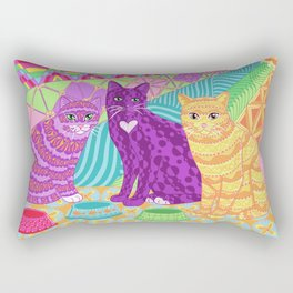 Anticipation of Noms Rectangular Pillow