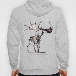 Irish Elk Skeleton Hoody