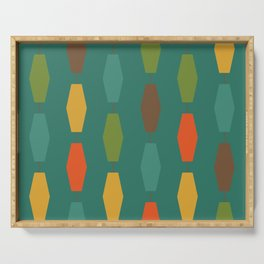 Colima - Teal Serving Tray