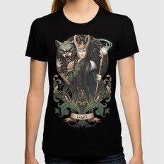 House of Loki: Sons of Mischief Womens Fitted Tee Black MEDIUM