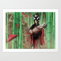 Bambooo Art Print