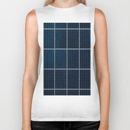 Solar Panel Pattern (Color) Biker Tank