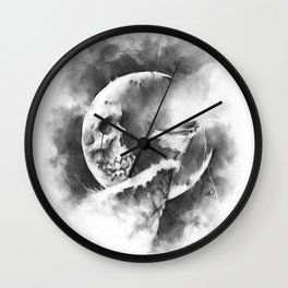 The Stillness of the Fall Wall Clock