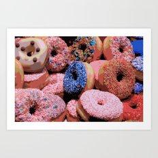 Donuts - JUSTART © Art Print