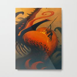 The Downfall of Passion Metal Print