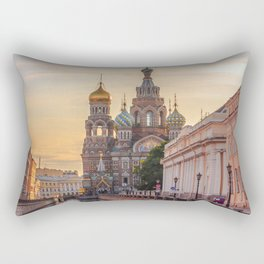 Church of the Savior on Blood, Saint Petersburg, Russia Rectangular Pillow