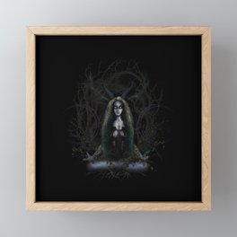 Earth Witch - Elements Collection Framed Mini Art Print