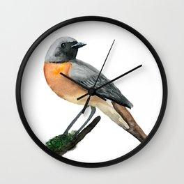 Redstart Wall Clock