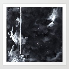 Black N White Art Print