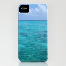 Caribbean Blues iPhone (4, 4s) Slim Case