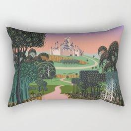 Dream for a Castle Rectangular Pillow