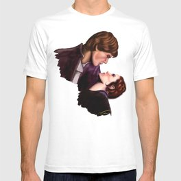 Star Wars, Han & Leia The Empire Strikes Back T-shirt