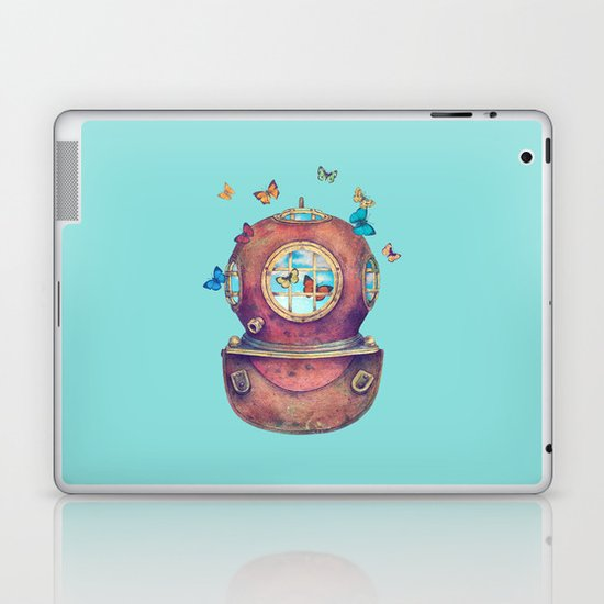 Inner Space - colour option Laptop & iPad Skin
