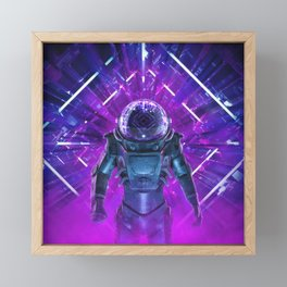 Entering The Unknown Framed Mini Art Print