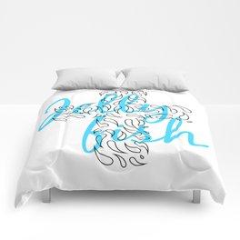 Jellyfish Cross Comforters