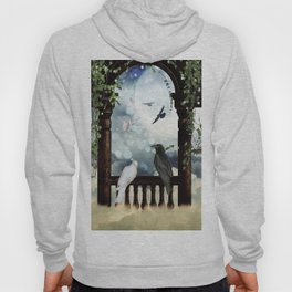 The crow and the dove Hoody