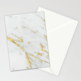 Treviso gold marble Stationery Cards