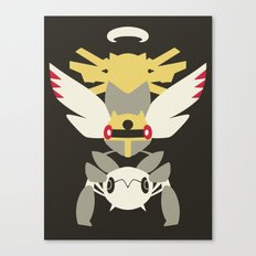 Pocket monster 290, 291 and 292 Canvas Print
