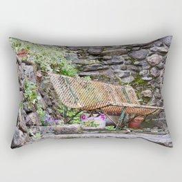 The bench Rectangular Pillow