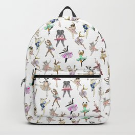 Animal Square Dance Hipster Ballerinas Backpack