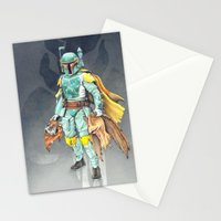 Star Wars Boba Fett and friends Stationery Cards
