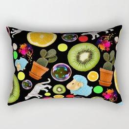 Crazy Pattern - Fun, Random Design Rectangular Pillow