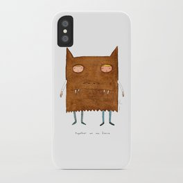 together we are fierce iPhone Case
